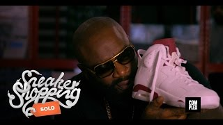 Download Rick Ross goes Sneaker Shopping with Complex Video