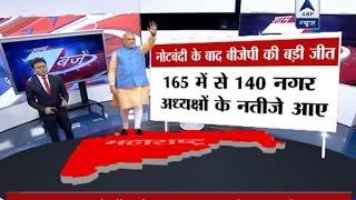 Download Maharashtra Municipal Council Polls: BJP inches towards huge win post demonetisation Video