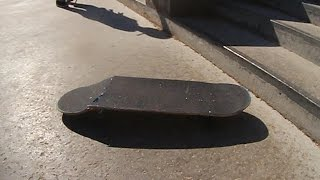 Download TREFLIP BOARD SNAP   WORST BOARD AT THE PARK Video