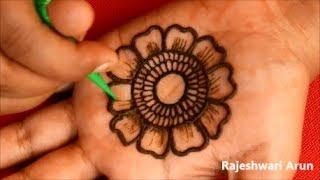Download Karwa Chauth Mehndi Designs For Hands 2018 * Easy Latest Mehndi Design For Beginners Video