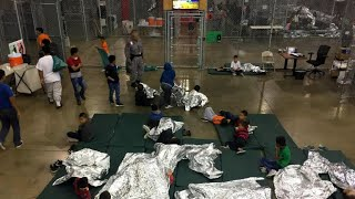 Download Inside look at Border Patrol facility in McAllen, Texas Video