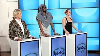 Download 'The Game of THINGS' with Miley Cyrus, Martha Stewart and Snoop Dogg Video
