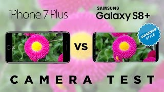 Download Samsung Galaxy S8 Plus vs iPhone 7 Plus Camera Test Comparison Video