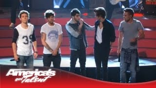 Download One Direction - ″Best Song Ever″ Performance on AGT - America's Got Talent 2013 Video