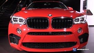 Download 2017 BMW X6 M - Exterior and Interior Walkaround - 2016 LA Auto Show Video
