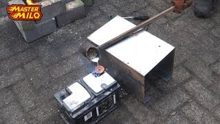 Download Molten lead on a battery!? Video