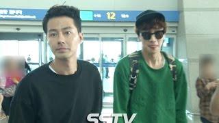 Download [SSTV] 조인성(Zo In Sung)-이광수(Lee Kwang Soo) 등 '괜찮아 사랑이야' 포상휴가 출국 현장! Video