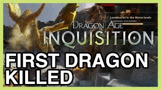 Download 1ST DRAGON KILLED!!!!! - Dragon Age Inquisition Gameplay Video