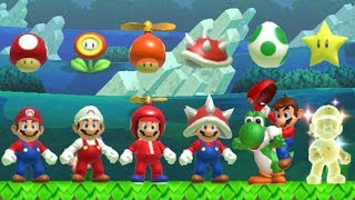 Download Super Mario Maker - All Power-Ups Video
