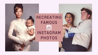 Download Recreating Famous Instagram Photos (ft IISuperWomanII) Video