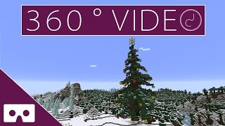 Download Minecraft Christmas Tree 360° VR Timelapse Video