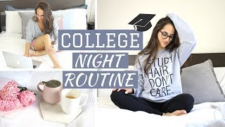 Download MY COLLEGE NIGHT ROUTINE | Study With Jess Video