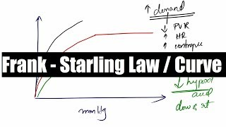 Download Cardiac Output 3 - Frank Starling Law and Curve ( Cardiovascular / Physiology / NEET PG ) Video