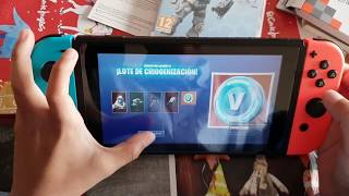 Download UNBOXING FORTNITE FISICO - 😱 / Lote CRIOGENIZACIÓN & Tempered Glass for Nintendo Switch Video