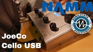 Download NAMM 2018 JoeCo Cello USB Interface - up to 384kHz Video