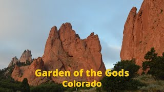 Download Garden of the Gods at Sunrise Video