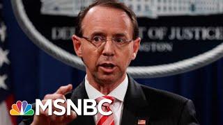 Download Behind The Scenes, Most GOP Support Deputy Attorney General Rod Rosenstein | Morning Joe | MSNBC Video