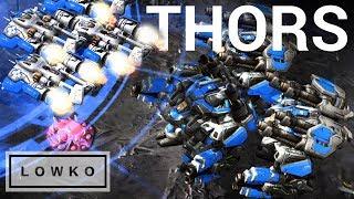 Download StarCraft 2: QUADRUPLE THOR DROP! Video