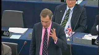 Download Farage: What gives you the right to dictate to the Greek and Italian people? Video