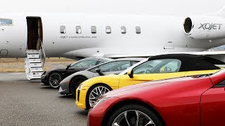 Download Private Jet Leader XOJET Brings the Jet Set to Robb Report's Car of the Year Video