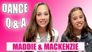 Download Maddie & Mackenzie Ziegler Dance Q & A Video