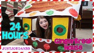 Download 24 Hour Gingerbread House Challenge / JustJordan33 Video