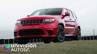 Download En video: La Jeep Grand Cherokee Trackhawk 2018 es la SUV mas poderosa Video