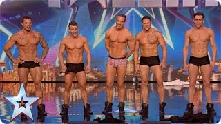 Download Why hello boys! Feeling a bit hot under the collar are we?   Britain's Got More Talent 2015 Video