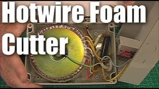 Download DIY: hot-wire foam cutter for making RC planes Video