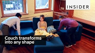 Download This couch transforms into any shape Video