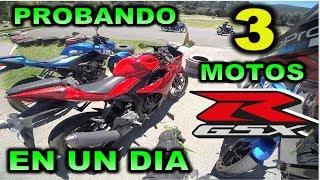 Download PROBANDO 3 MOTOS EN UN DIA SUZUKI GSX-R 150, GSX-S 150 Y GSX 250 R Video