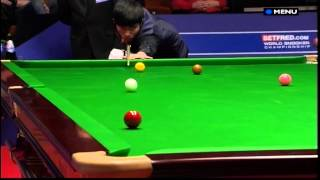 Download Snooker - The most unfortunate way to lose a match EVER! (World Championship 2012 - 22.4.12) Video