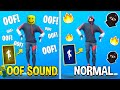 Best Fortnite Dances With OOF Sound (Roblox Death Sound)