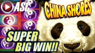 Download ★ SUPER BIG WIN! ★ CHINA SHORES | OVER 250+ FREE SPINS! Slot Machine Bonus (Konami) Video