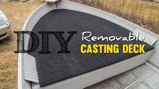 Download DIY Cheap Removable Casting Deck Video