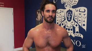 Download Seth Rollins' update on his knee as he trains days before WrestleMania 33 Video