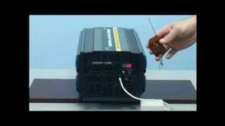Download 3000 Watt Power Inverter with 20 Amp Battery Charger 12 Volt DC to 110 Volt AC Video