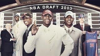 Download 2003 NBA Draft Revisited (LeBron / Darko / Melo / Bosh / D-Wade) (HD) Video