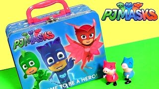 Download Disney PJ Masks Toys Lunchbox Surprise Owlette Gekko Catboy Baby Twozies Play-Doh Vinylmation Clay Video