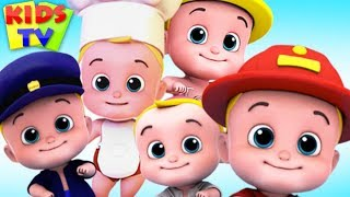 Download Five Little Babies Jumping on the Bed + More Kids Songs & Nursery Rhymes Video