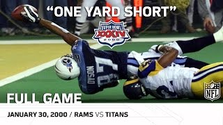 Download Super Bowl XXXIV: ″One Yard Short″ | Rams vs. Titans | NFL Full Game Video