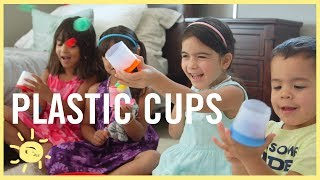 Download PLAY | 5 Ways to Reuse Plastic Cups! Video