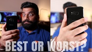 Download Samsung Galaxy S8+ Iris Scanner Vs Fingerprint Scanner - Worst or Best? Video