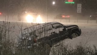 Download Twin Cities Overnight Snow Wrecks And DeIcing - 12/16/2016 Video