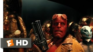 Download Hellboy 2: The Golden Army (10/10) Movie CLIP - Hellboy vs. The Golden Army (2008) HD Video