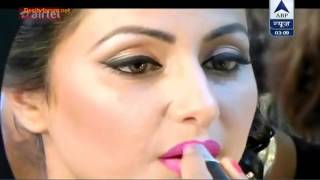 Download In The Makeup Room Of Star Parivaar Award 2015 - SBS Segment - 18th May 2015 Video