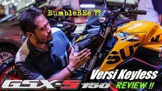 Download Review SUZUKI new GSX-S150 KEYLESS 2018 | Bumble BEE Video