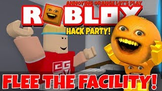 Download Roblox: Flee the Facility - HACK PARTY! 👨‍💻 [Annoying Orange Plays] Video