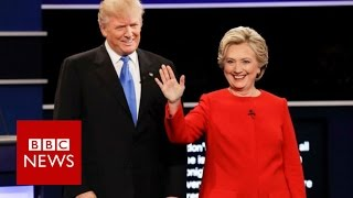 Download Hillary Clinton vs Donald Trump (First TV Debate Highlights) - BBC News Video