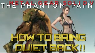 Download MGSV - How to get Quiet back - Quickly Video